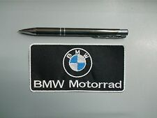 PATCH BMW MOTORRAD EMBLEM EMBROIDERY EMBROIDERED FUSIBLE 10 cm x 5