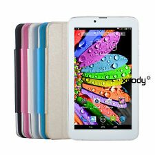 """7"""" Dual Core Dual Sim Smartphone Android 4.4 8GB Unlocked 3G Cell Phone GPS WIFI"""