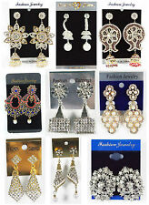 E7 Women's Earrings Ethnic Indian Pakistani Asian Bollywood Wedding Jewellery