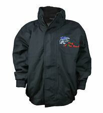 Scania Kids Boys Regatta Fleece Lined Waterproof Jacket with Embroidered Logo