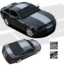 Pony Center Stripes Venom Style Hood Decals 3M Vinyl fits 2013-2014 Ford Mustang