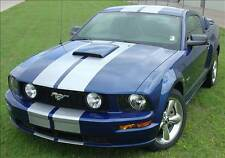 "GT 10"" Racing Stripes for Hood Scoop 3M Vinyl Graphic for Ford Mustang 2005-2009"