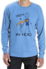 Daddy Is My Hero - Super Dad Gift Idea for Father's Day Long Sleeve T-Shirt for