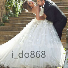 Lace Long Wedding Dresses 2016 New Appliques Bridal Ball Gowns Custom Made