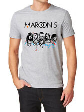 MAROON 5 LOGO T-SHIRT NEW FRUIT OF THE LOOM PRINT BY EPSON
