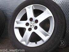 Peugeot 407 2004 - 2010 Single Alloy WHEEL AND TYRE 205/60 R16 Ref. LL1