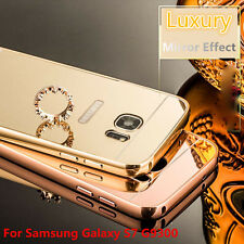 Luxury Aluminum Ultra-thin Mirror Metal Case Cover for Samsung Galaxy S7 G9300