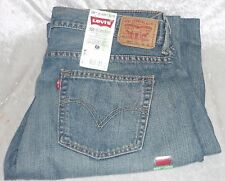 Levi's 550 boys jeans relaxed straight leg 100%cotton light wash size 16H NEW