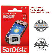 New Authentic SanDisk 8GB 16GB 32GB SDHC Class 4 Micro SD Memory Card