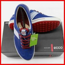 New ECCO Women's Street Golf Shoes Blue Brick EU 40 41 $180