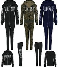Womens Ladies Love New York Studded Embellished Lounge Suit Tracksuit Size(8-14)