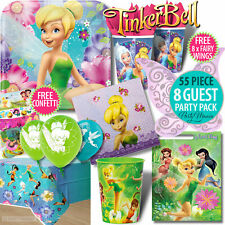 DISNEY TINKERBELL FAIRIES GIRLS BIRTHDAY PARTY BALLOONS DECORATIONS PARTY PACKS