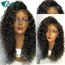 Human Hair Full Lace Wigs Natural Curly Lace Front Wigs 100% Brazilian Hair
