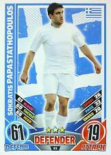 MATCH ATTAX EURO STARS 2012 England Edition - GREECE selection - TOP MINT