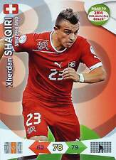PANINI ROAD TO FIFA WORLD CUP BRAZIL 2014 - SWITZERLAND - Single Cards or Set