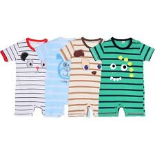 3-24M Toddler Girls Boys Kids Baby Cotton Clothing Jumpsuit Romper One-Piece
