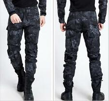 Hot Men Military Army Cargo Camo Combat Work Trousers Outdoor High Quality Pants
