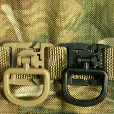 Lot 5-50PCS D-Ring Buckle Molle Webbing Locking Carabiner Backp Outdoor Tool Hot