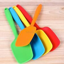 1pcs Cake Cream Butter Spatula Mixing Batter Scraper Brush Silicone Baking Tools
