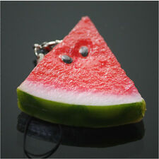 Kawaii Simulation fruit Cell Phone Charm Bag Strap Keychain Pendant Decor 1PCS
