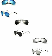 Fashion Unisex Women Men Aviator Mirror Lens Sunglasses Glasses Vintage Shades