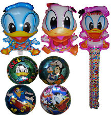 DONALD DAISY DUCK BALLOON PARTY LOLLY BAG TREAT BOX FILLER TOY DECOR CENTERPIECE