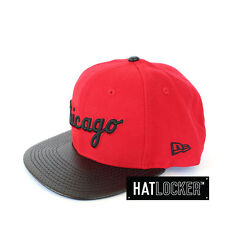 New Era - Chicago White Sox Premium Fabric Scarlet Snapback