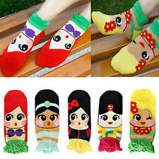 Korean Womens Cute Adorable Cartoon Girls Cotton Ankle Socks Low Cut Socks NEW