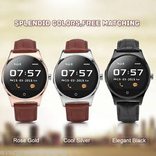 Bluetooth Smart Wrist Watch Phone Mate Monitor Pedometer for Android iPhone iOS