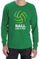 Volleyball Ball Like a Pro Gift for Volleyball Fans, Players Long Sleeve T-Shirt