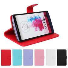 New Wallet Flip PU Leather Card Slot Phone Case Stand Cover For LG G4/iPhone 6