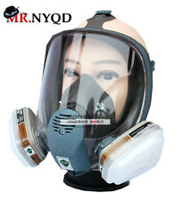 For 3M 6800 Gas Mask Full Face Facepiece Respirator New