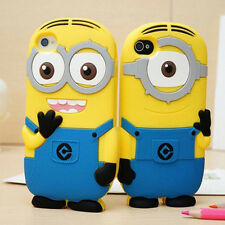 Minions 3D Despicable Me Soft Silicone Case Cover for Apple iPhone6/6s 6Plus 5S