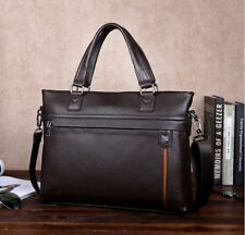 New Mens briefcase PU+Leather Bag Messenger Shoulder Tote Bag Laptop 2016