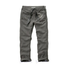 NEW ABERCROMBIE & FITCH PANTS for MEN * A&F Classic Sweatpants * Heather Grey