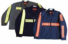 Red Kap Reflective High Visibility Work Jacket Men Quilted Lining [MANY SIZES]