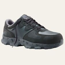 Timberland PRO Shoes Mens Powertrain Alloy Safety Toe SD+ Black/Grey Work Shoe