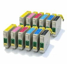 2 x Full Sets Compatible (non-OEM) Printer Ink Cartridges to replace T0807