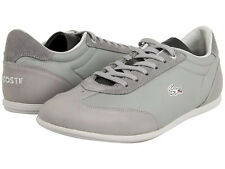 Lacoste Mens Gaston RC Grey Lace Up Casual Athletic Fashion Sneakers Shoes Kicks