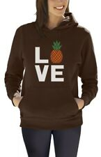 Love Pineapples - Best Gift for Pineapple Lovers Women Hoodie Funny