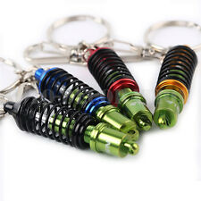 Tein Mini Coilover Suspension Adjustable Damper Key Ring/Chain Green & Gold