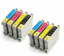 2x Full Sets Compatible (non-OEM) Printer Ink Cartridges to replace T0555