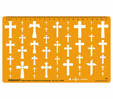 Cross Crosses Template Shapes Symbols Drawing Drafting Template Stencil