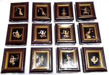 3D THAI PICTURE FRAME BOX TEAK WOOD THAI HANDMADE DECORE SOUVINIOR WALL HANGING