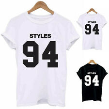 Hot Sexy Women's Casual Fashion Short Sleeve Letter Printed T-shirts Tees Tops