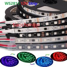 WS2811 5050 RGB LED Strip 5M 150 300 450Leds Addressable DC12V IP60 IP65 IP67