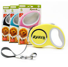 Dog Retractable Leash Pet Puppy Dog Leash 16ft Adjustable up to 44lb Tangle Free