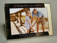 Personalised Engraved 7x5 Silver Plated Photo Frame Grandad, Grandpa Gift