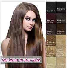 20 Inch 7PCS - 70g Remy Clip In Human Hair Extensions Full head cheap Extensions