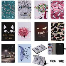 Beautiful pattern Case PU Leather Case Stand Cover For Apple iPad /Samsung Tab